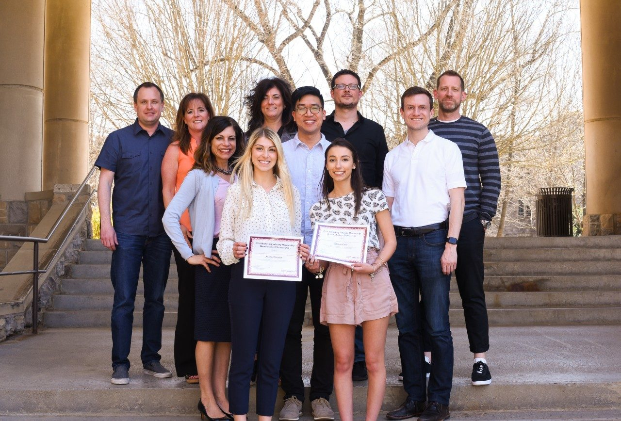 This year, Pamplin s own Marketing Industry Mentoring Board decided to  create and give out their very first scholarship to marketing students. 1cb223fe3a8